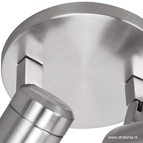 Badkamerlamp Rain  2 lichts nikkel IP44