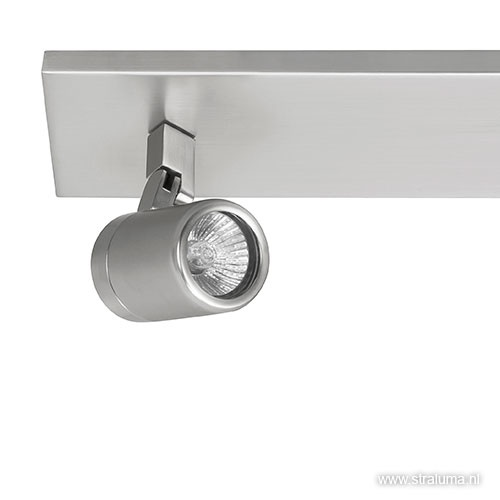 Badkamerlamp balk Rain nikkel IP44 spots