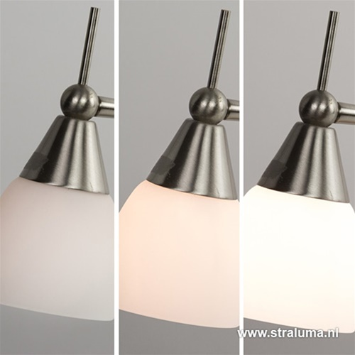 Vloerlamp Touchy dubbel verstelbaar