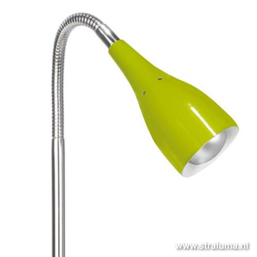 Tafellamp Elite flexibele arm, groen