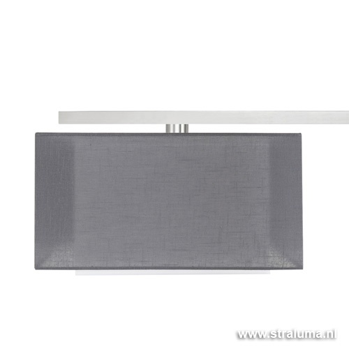 Hanglamp Straight staal kap antraciet