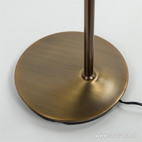 LED leeslamp brons dimbaar en kleuren