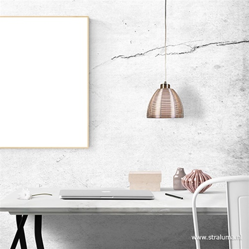 Hanglamp Whires alu/wit