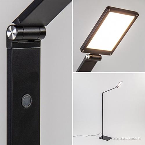 Moderne vloerlamp LED dimbaar touch