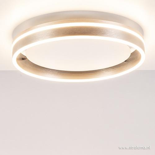 Plafondlamp ring staal 40cm