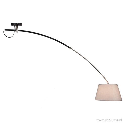 Grote plafondlamp boog met kap