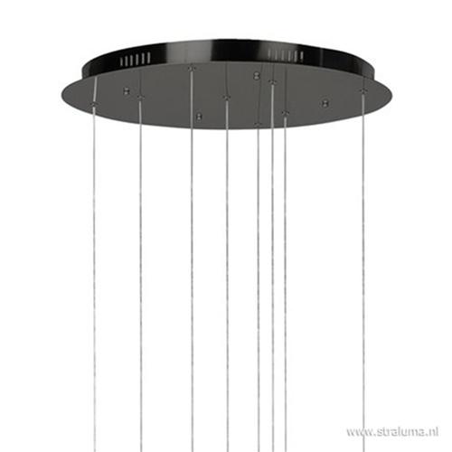 Vide hanglamp 8-L ringen zwart