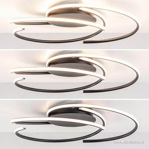 Moderne ronde plafondlamp LED dimbaar