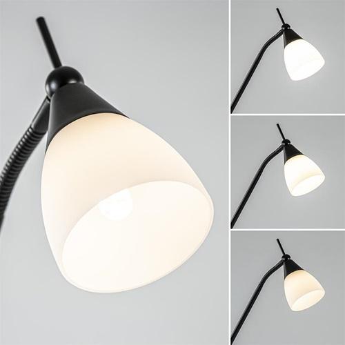 LED vloer/leeslamp Touchy verstelbaar zwart