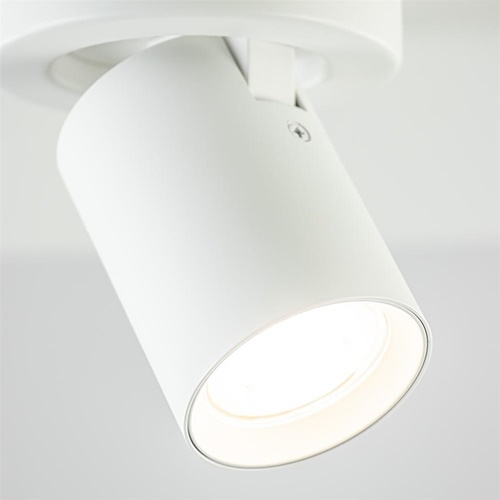 Plafondspot tube wit gu10