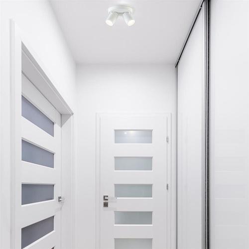 Plafondspot 2L rond wit ex.gu10