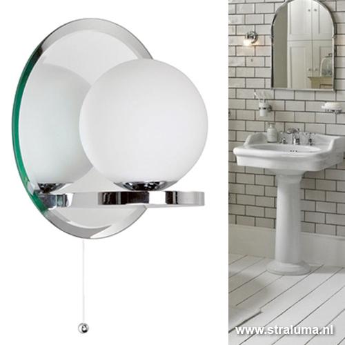 badkamerlamp bol spiegel met schakelaar | straluma, Badkamer