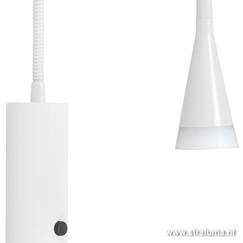 LED leeslamp wand slaapkamer-kantoor | Straluma