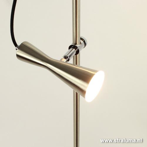 Moderne vloerlamp met spots dimbaar straluma - Moderne vloerlampen ...