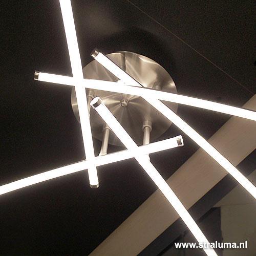 Design plafondlamp LED woon-slaapkamer | Straluma