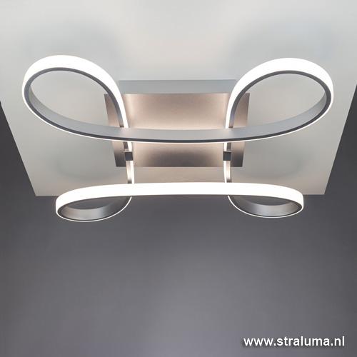 design led plafondlamp knot slaapkamer straluma