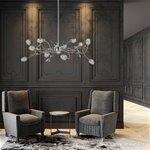 *Romantische hanglamp Toscane nikkel