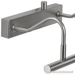 *Schilderijverlichting LED dimbaar staal
