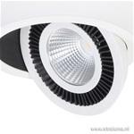 **Design Spot Eye wit LED verstelbaar
