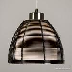 3-Lichts moderne draad hanglamp zwart