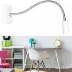 Flexibele wandlamp LED met dimmer wit