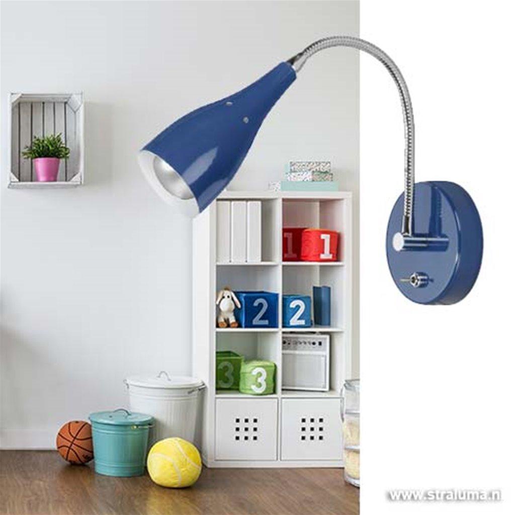 Wandlamp Elite kinderkamer leeslamp