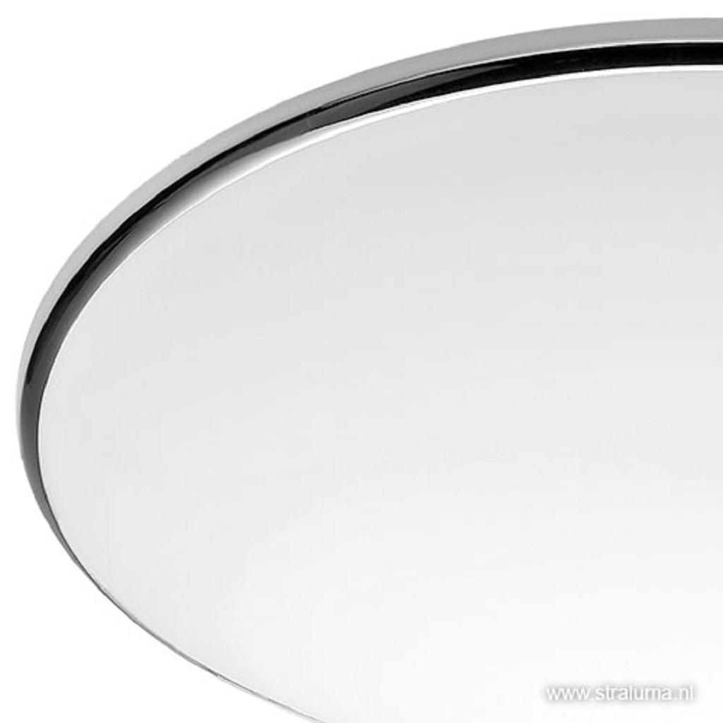 PlafonnièreArt rond chroom 30 cm