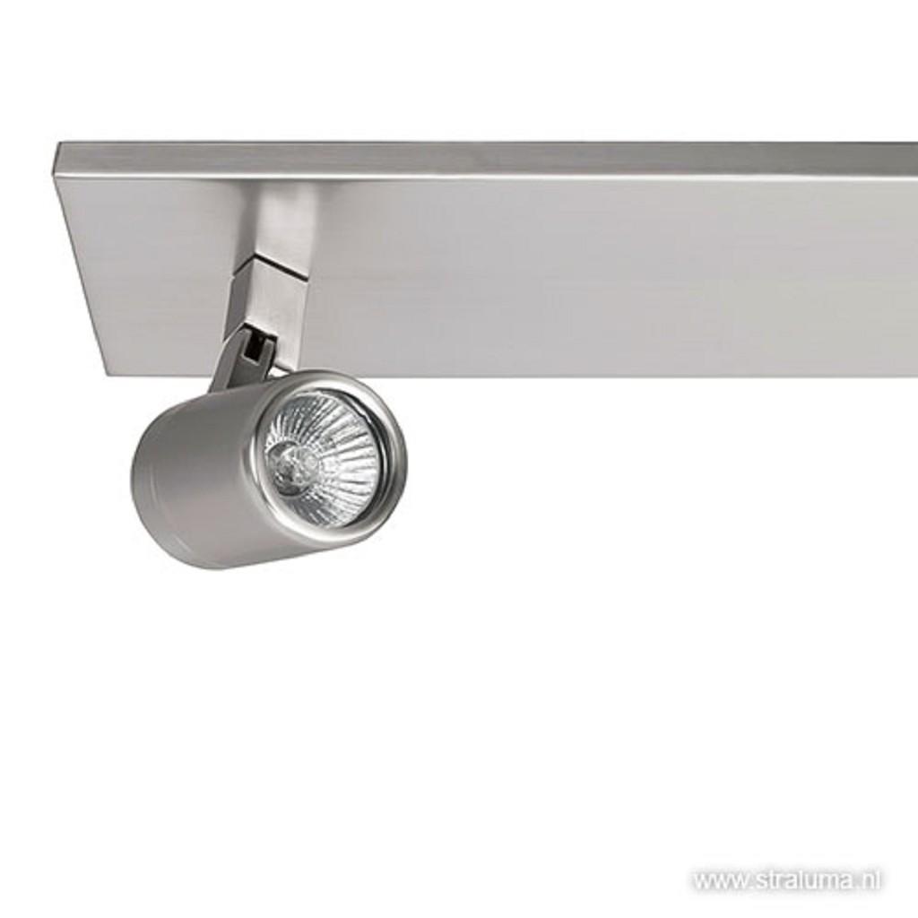 Badkamerlamp spot Rain nikkel IP44