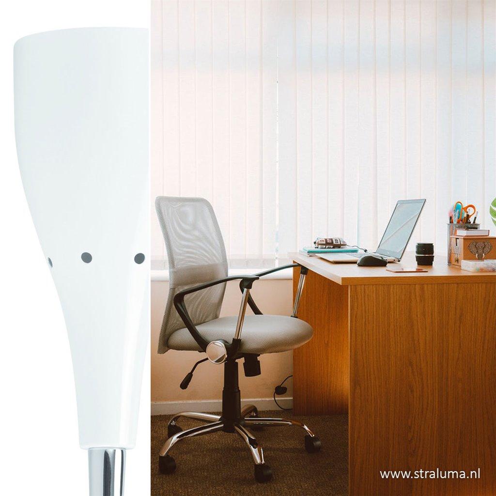 Klemlamp Elite kinderkamer kantoor wit
