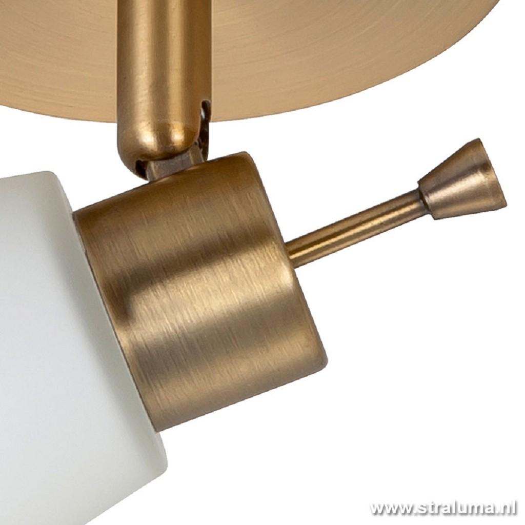 Plafondlamp spot klassiek brons keuken