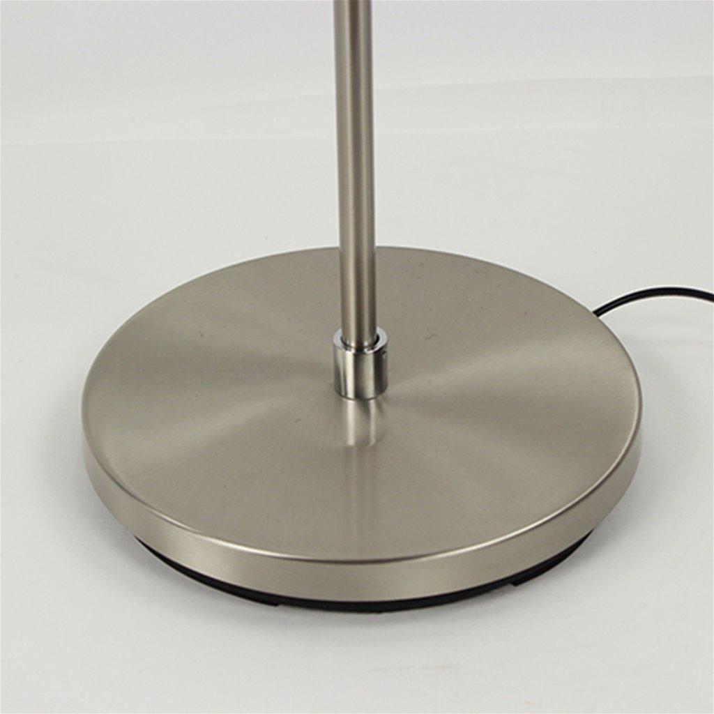 Moderne vloerlamp met spots dimbaar