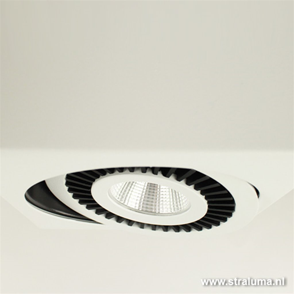 Design plafondspot LED wit keuken