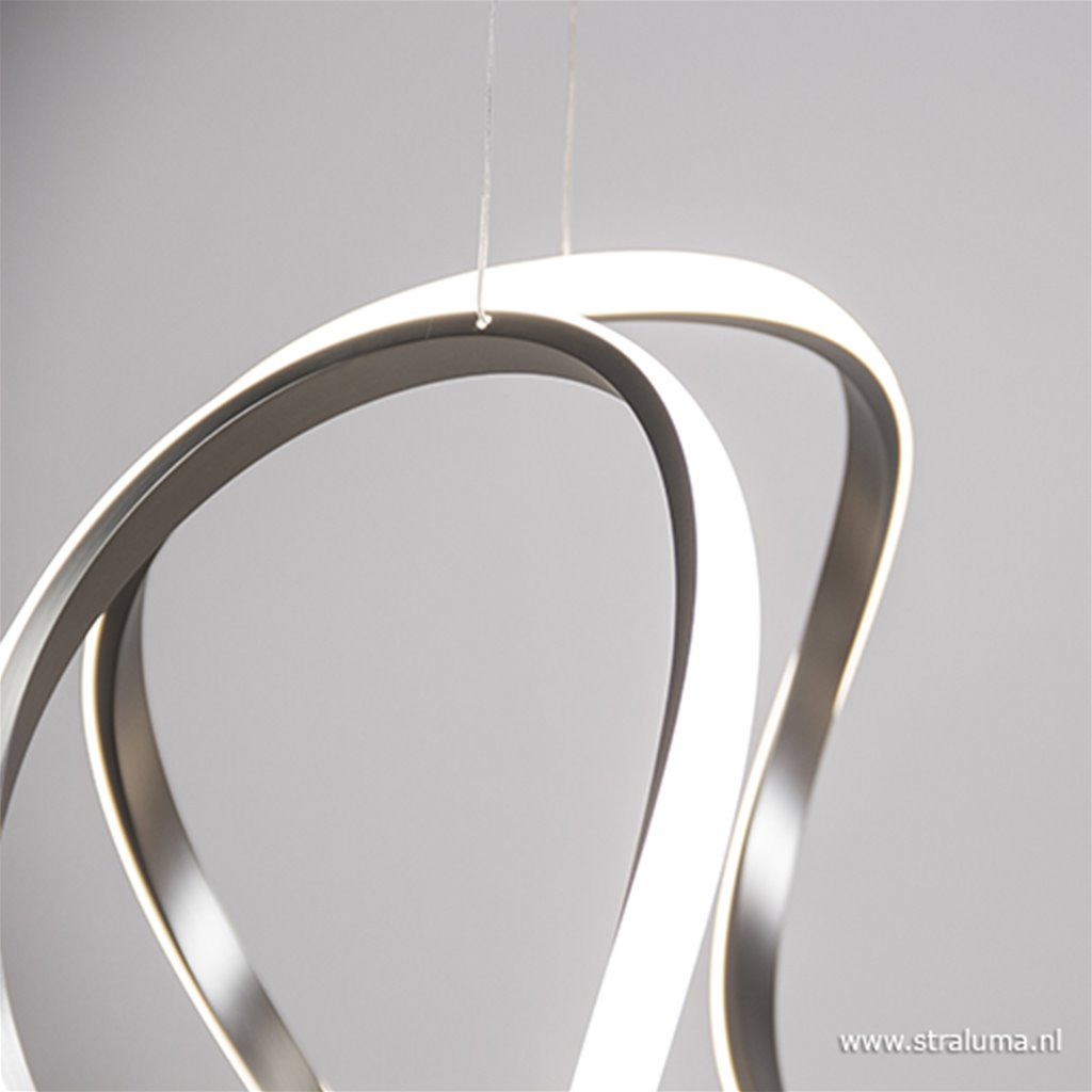 Design hanglamp LED staal