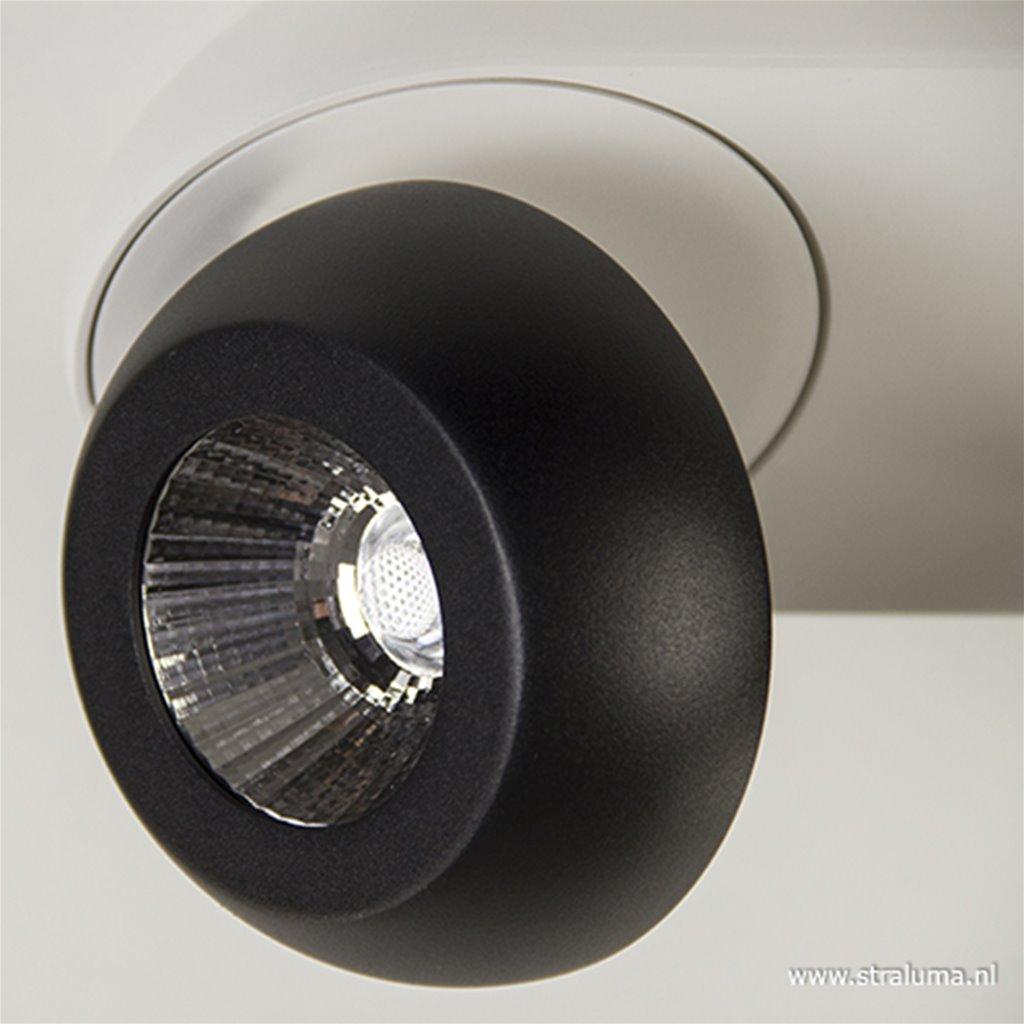 LED plafondspot zwart-wit 3-lichts