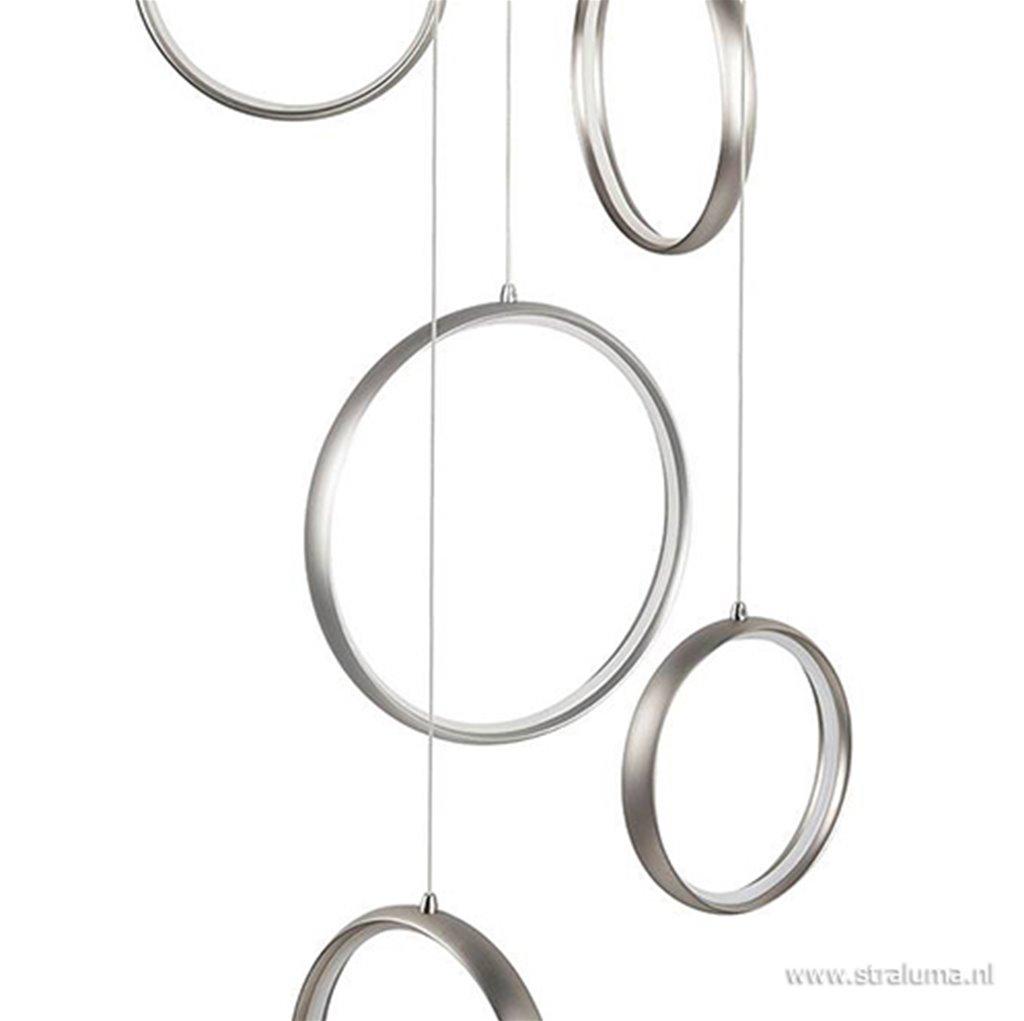 Hanglamp/videlamp ringen alu