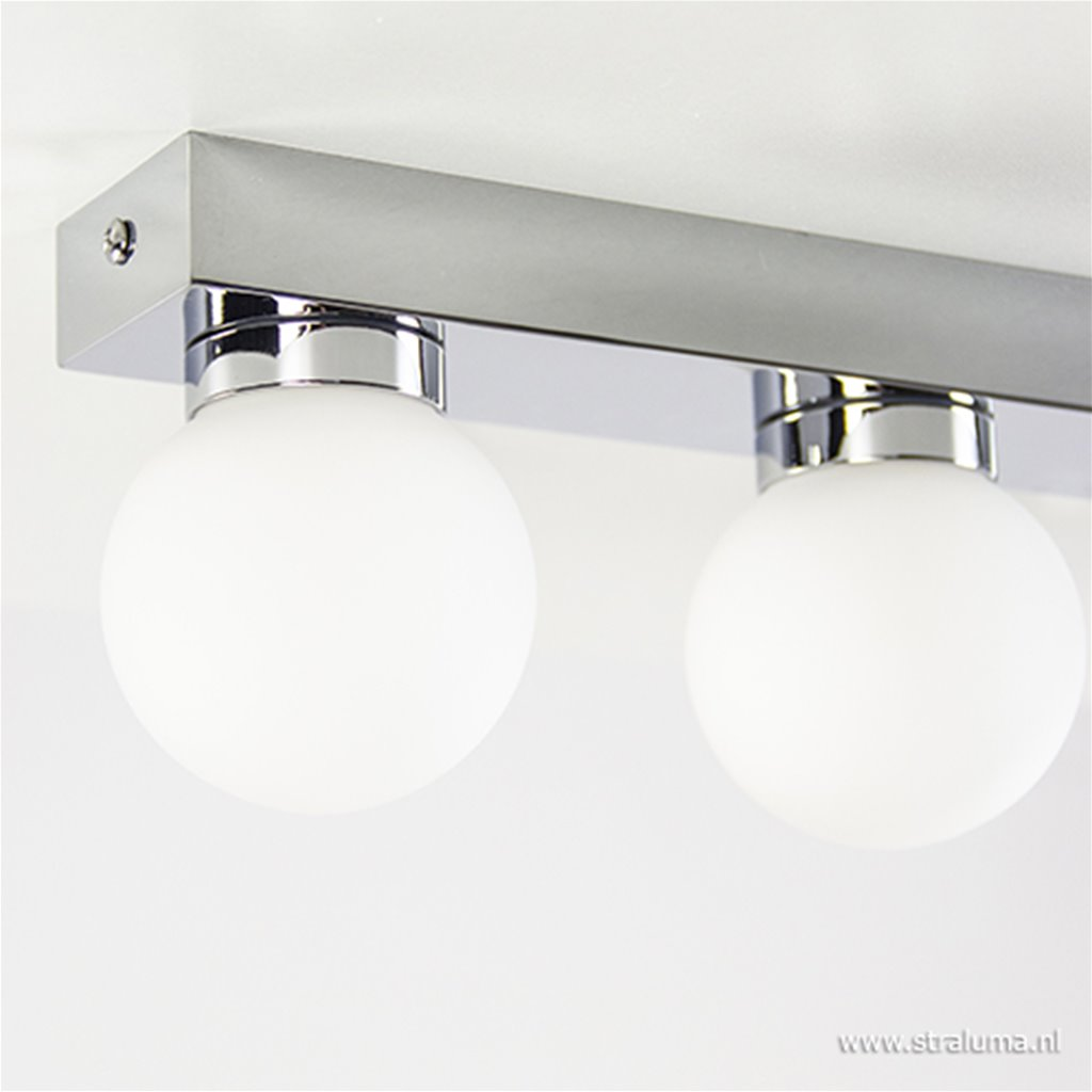 5-Lichts plafondlamp badkamer chroom