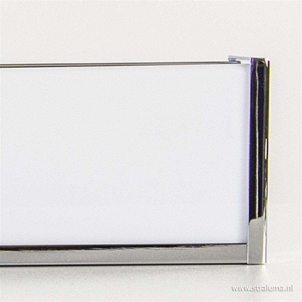 Chromen wandlamp badkamer spiegel
