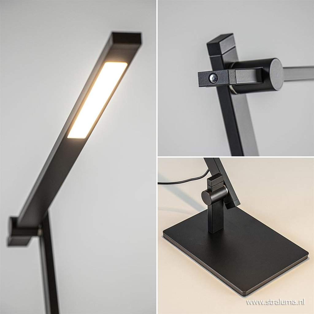 Moderne design tafel/bureaulamp inclusief dimbaar LED