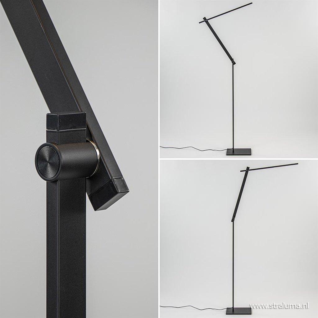 Moderne design vloer/leeslamp met dimbaar LED