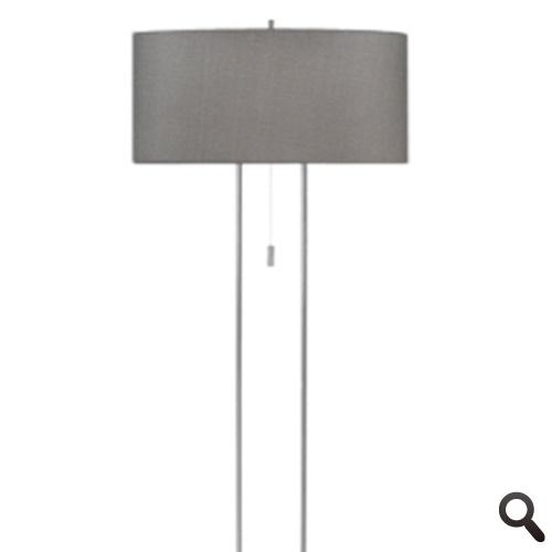 Vloerlamp Cluses trekschakelaa -r grijs