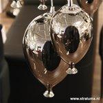 *Hanglamp met meerdere lampen glas 12-L