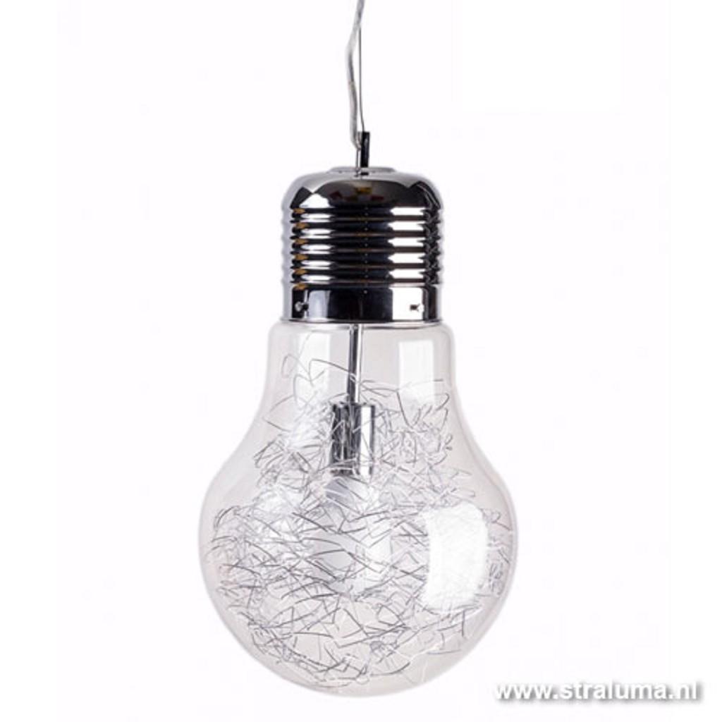 **Hanglamp Gloeilamp met draad helder