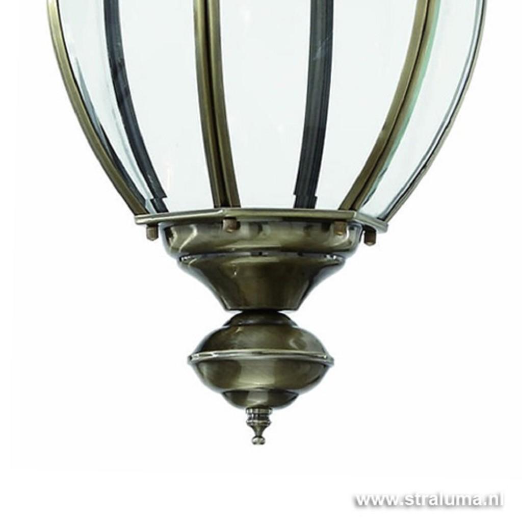 Klassieke hanglamp/ lantaarn brons