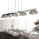 *Hanglamp chroom design