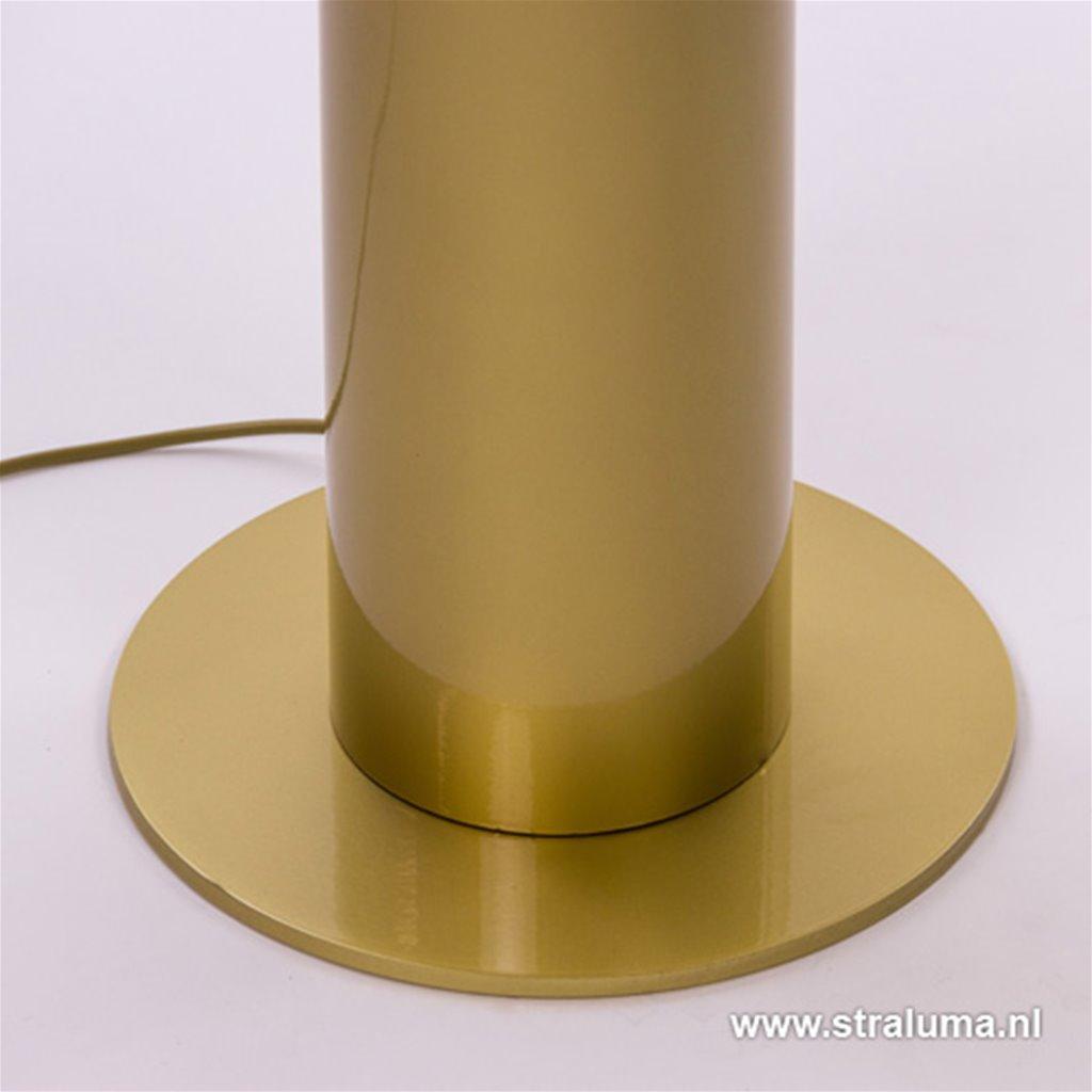 Vloerlamp zuil goud/bloudgoud indirect