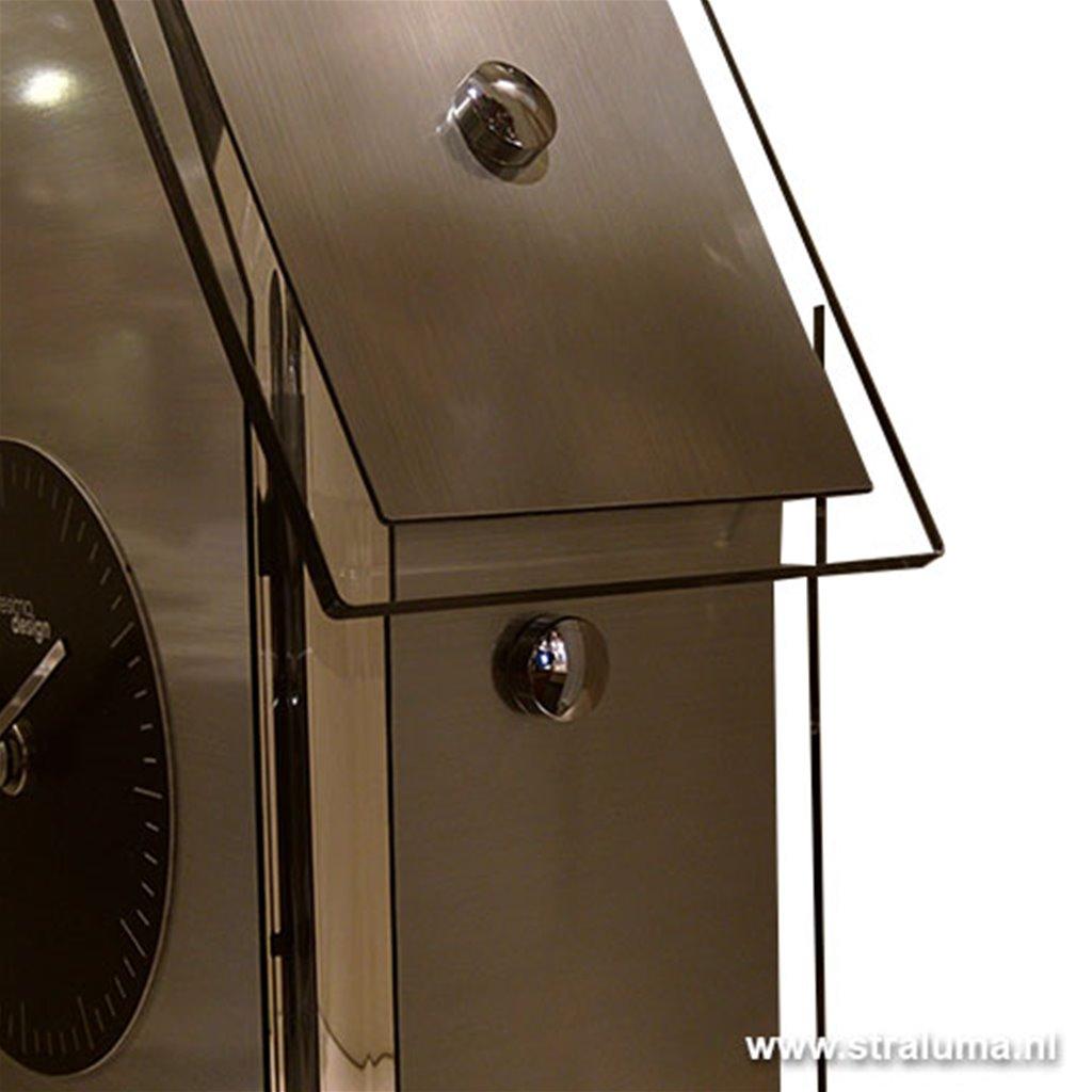 Moderne koekoeks wandklok keuken zwart