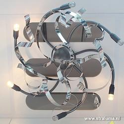 Plafondlamp Ruban Plie Special