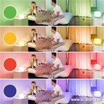 *LED Tafellamp Clover Idual met kleuren