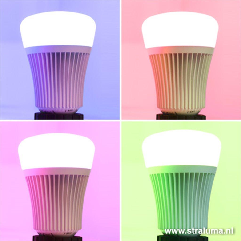 Lichtbron LED E27 meer kleurig