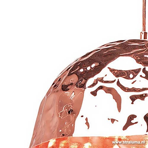 Hanglamp trendy, design- koper kleur